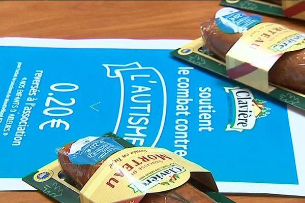 Des pastilles bleues pour aider les familles d'enfants autistes.