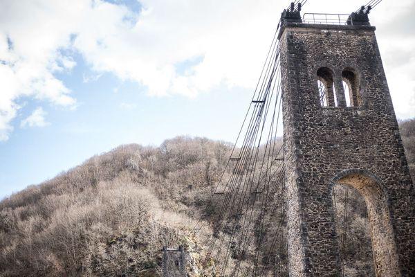 Le viaduc des Rocher Noirs en Corrèze