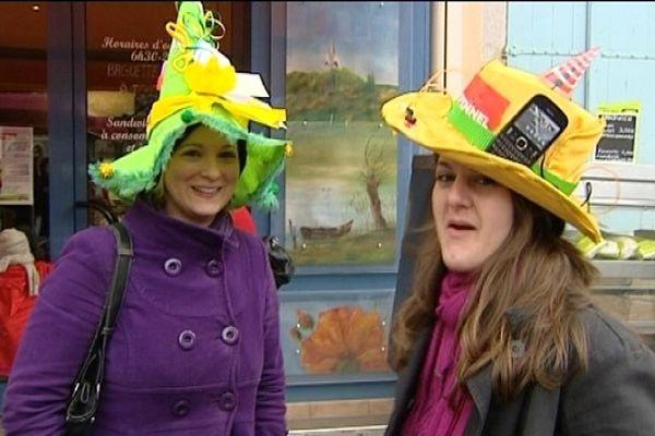 Deux catherinettes en lice pour le concours du plus beau chapeau
