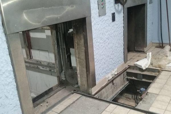 le crématorium de Clermont-Ferrand est actuellement fermé pour cause de travaux sur l'une de ses deux unités de crémation