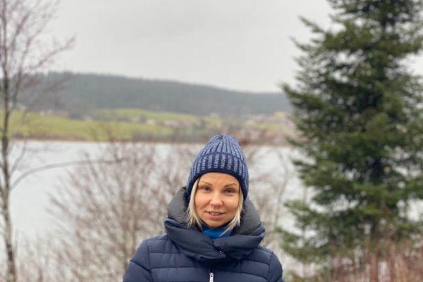 Maria Makarova, parent d'élève à l'origine de la pétition en ligne