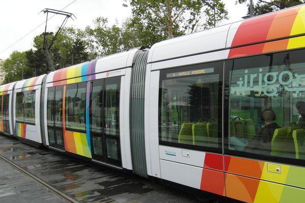 Le tram d'Angers