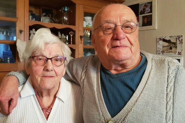 Laure et Marius Armenier sont mariés depuis 64 ans.