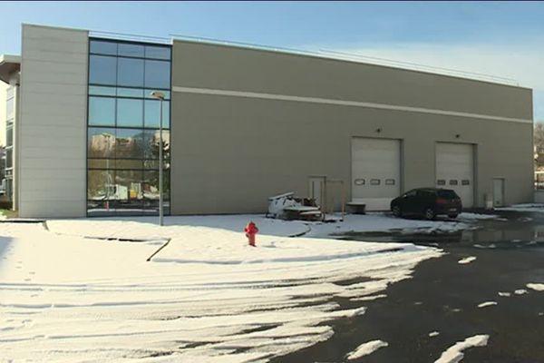 Dans l'entreprise de Patrick Fraisse, le parking est vide depuis 3 jours.
