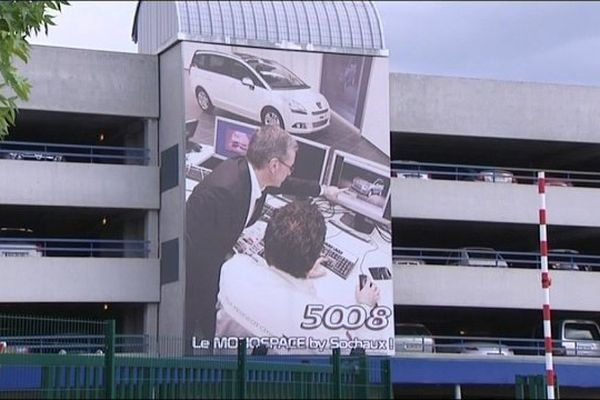 L'usine de PSA Peugeot Citroën à Sochaux fabrique des 3008, 5008 et 308.
