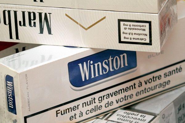 1120 cartouches de cigarettes en provenance de l'Andorre ont été saisies de week-end sur les routes de la région.
