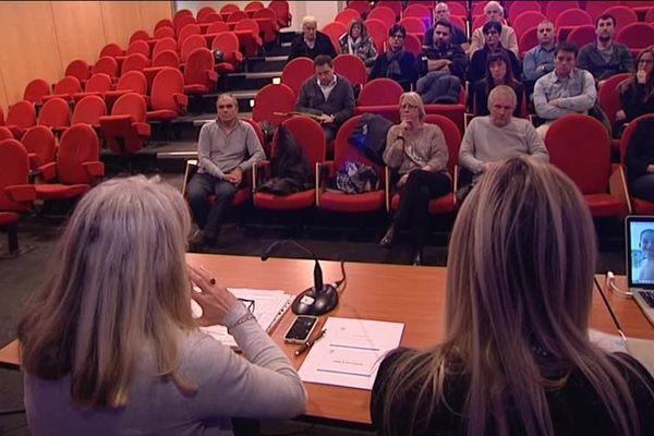 L'assemblée générale de l'association de victimes de l'attentat de Nice Promenade des Anges.