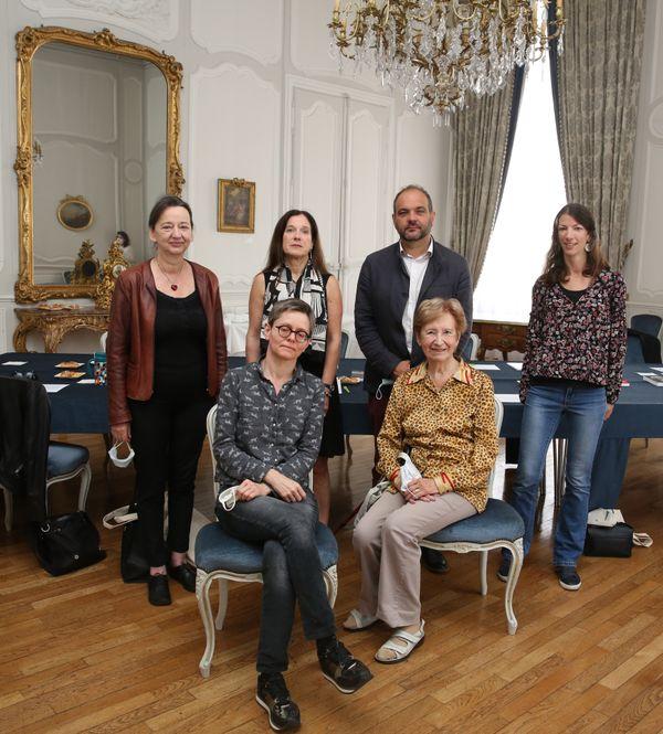 """Le jury de la 19ème édition du prix """"Livre et Droits humains""""."""