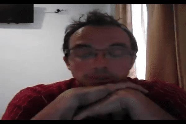 La vidéo de Thomas Dumontheil a été posté sur son profil Facebook ce mercredi 28 mai après-midi