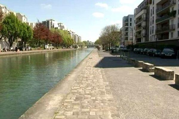 Le canal de l'Ourcq nouveau lien entre Paris et sa banlieue