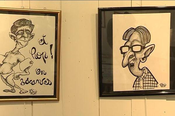 Deux dessinateurs de presse - rien de moins - pour le plus ancien des journaux aveyronnais, Le Villefranchois.