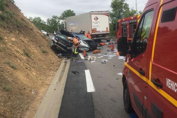 L'accident a eu lieu ce mercredi vers 9h.