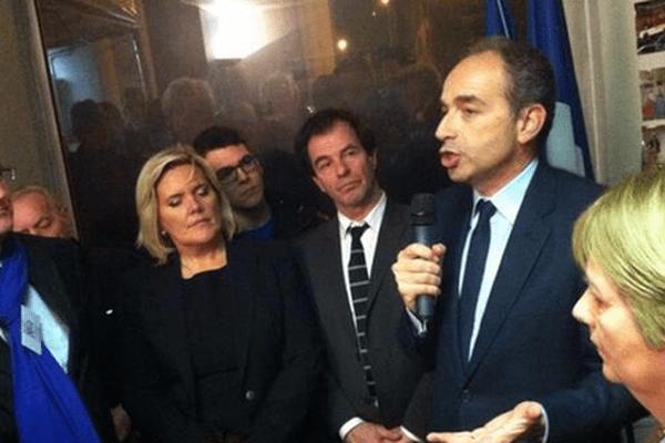 Le président de l'UMP est venu soutenir Jacques Grosperrin