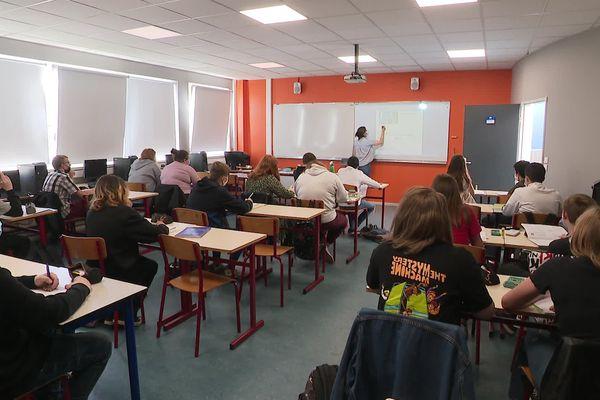 Collège d'Armentières, mai 2021