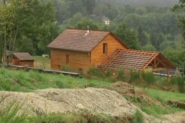 La première maison en bois de cet EcoQuartier