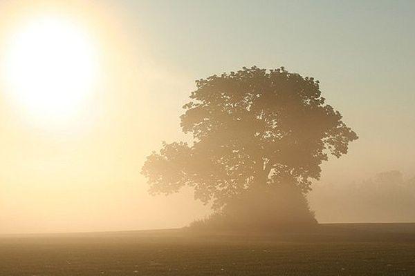 La campagne normande aux couleurs de l'automne...
