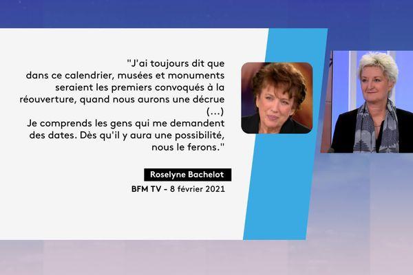 La réaction d'Isabelle Bertolotti, directrice du MAC de Lyon aux propos de la ministre de la Culture concernant la réouverture des musées - 8/2/21