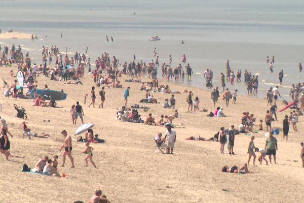 La plage de Bray-Dunes, jeudi 21 mai 2020.