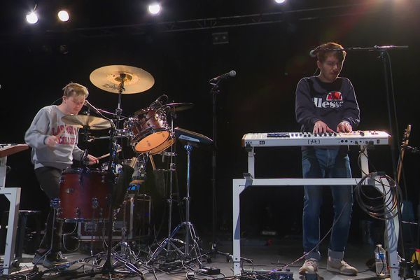 Brice Lebel et Clément Mouillard ont formé le groupe Noroy en 2017