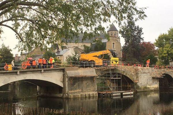 Le Pont Joubert à Poitiers va retrouver son visage médiéval après les travaux.