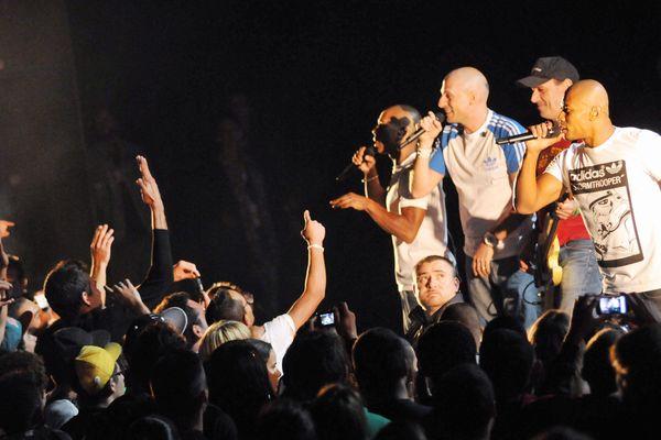 Le groupe marseillais IAM en concert
