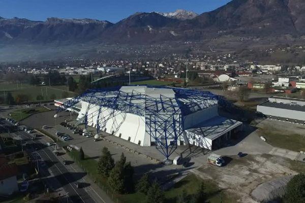 La Halle Olympique d'Albertville.