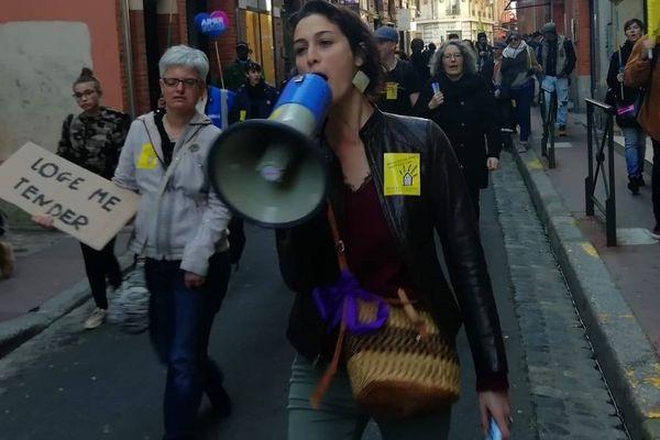 Nina Condeço et le DAL 31 du temps des manifs de rues