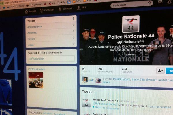 Le compte @pnationale44 compte 364 abonnés à ce jour