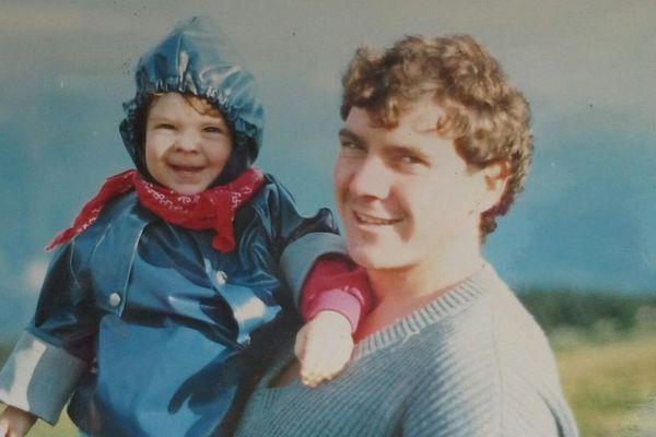 Marine Dupuy et son papa, Daniel Dupuy.