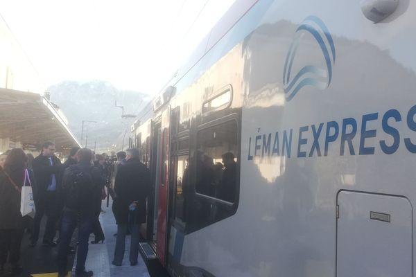 Le Léman Express a officiellement été inauguré ce jeudi 12 décembre.