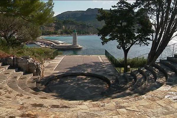 L'amphithéâtre de plein air de la fondation Camargo