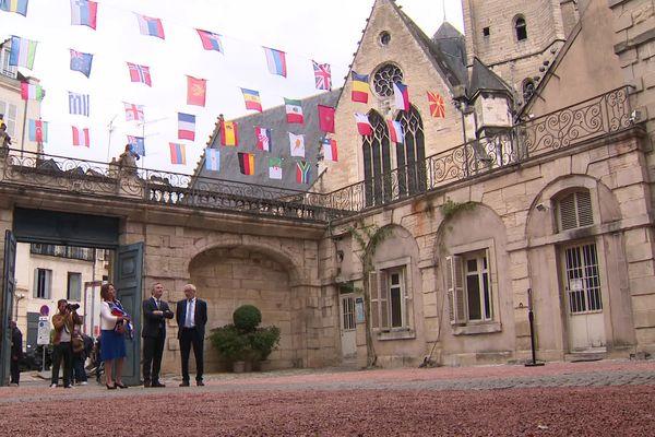 L'hôtel Bouchu d'Esterno pourrait accueillir le nouveau siège de l'OIV, si Dijon est officiellement retenue.