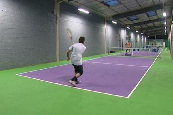 Un des halls de My tennis experience
