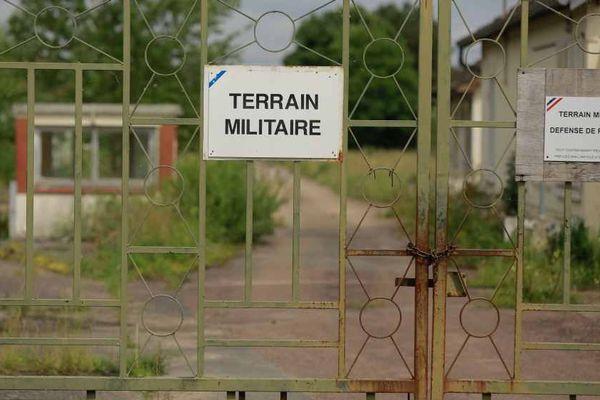 L'ancien camp militaire de Chemilly dans l'Yonne