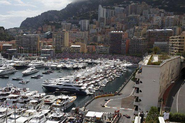Monaco lors du Grand Prix 2016.