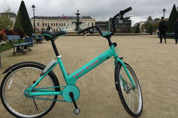 Le Pony Bike testé à Angers à l'automne 2017