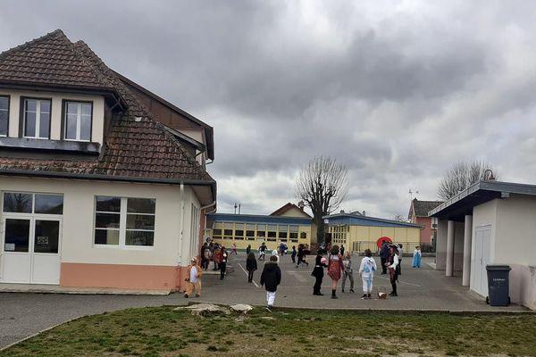 L'école de Roches-lés-Blamont avant le confinement