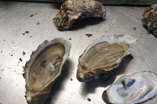 Menus de fêtes - les huîtres de l'ïle de ré
