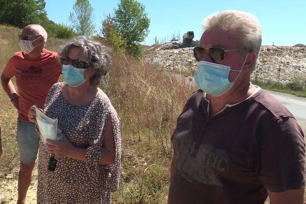 Les riverains de la décharge de Pavie réclament des mesures d'urgence depuis plusieurs mois