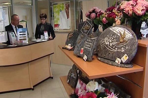 Des gérants de pompes funèbres dans l'Yonne - 1er novembre 2017