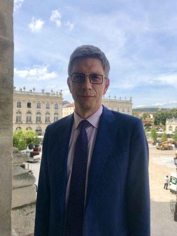 Mathieu Klein, maire socialiste de Nancy (Meurthe-et-Moselle), le 13 septembre 2021.