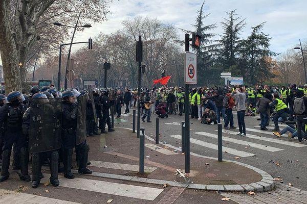 Un peu avant le pont des Catalans