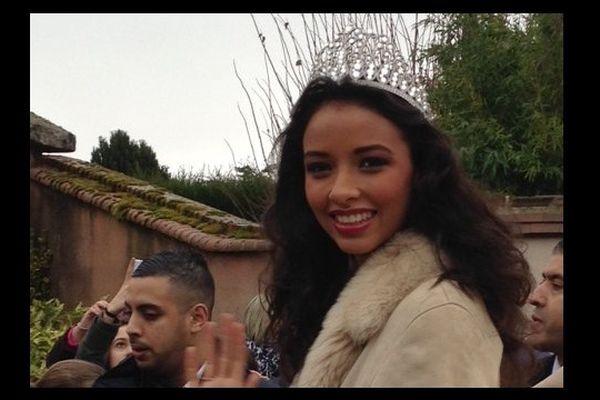 Miss France 2014 à Morancez sa commune d'adoption en Eure-et-Loir.