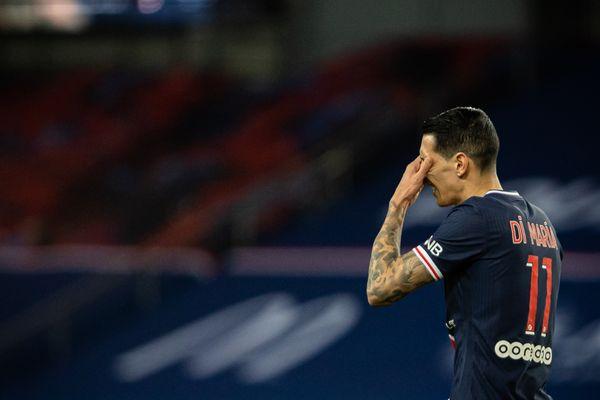 Le joueur argentin Di Maria cambriolé à son domicile lors du match PSG-FC Nantes.