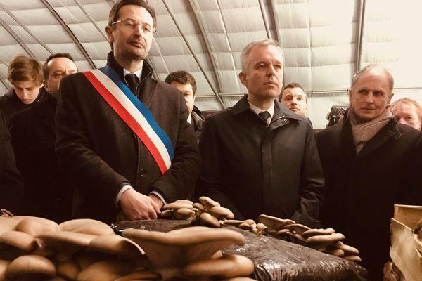 Le ministre à Champicreuse.