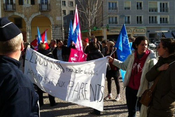 """Les """"Manif pour tous"""" à Chambéry"""