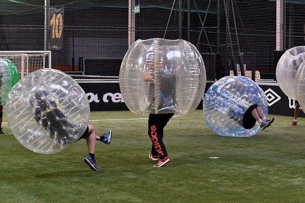 Le bubble bump ou bubble foot, une nouveauté à Limoges.