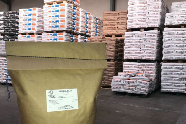 La Minoterie Forest, qui travaille principalement pour les artisans, a créé des sacs de 5 kilos destinés au public des particuliers.