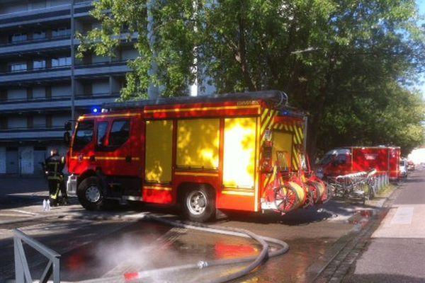 Incendie Rue de Rome