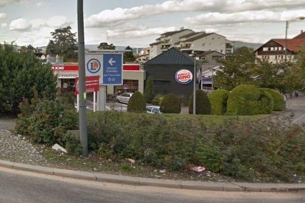 Le restaurant Burger-King braqué à Cran-Gevrier